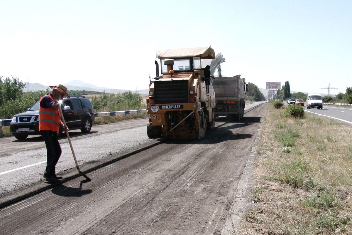Հիմնանորոգվում է Երևան-Սևան ավտոճանապարհի 28 կմ հատվածը