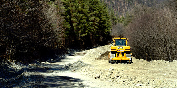 The renovation works of the road Vanadzor-Alaverdi-Georgian border continue